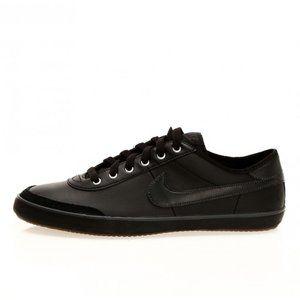 RARE Nike black leather sb sweeper sample sneakers